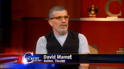 Mamet Tells Colbert Broadway is Dead, Misses Point