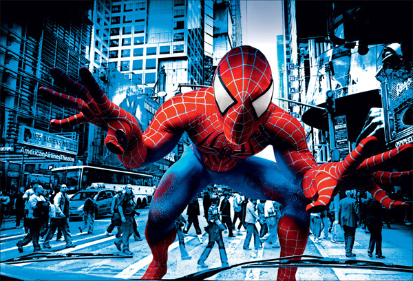 Bono Promotes Spider-Man With Music Video
