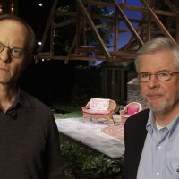 David Hyde Pierce and Christopher Durang